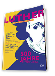 Titelseite Luther-Magazin